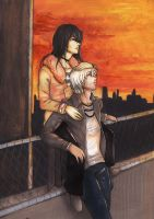 Glen and Cody by MissPinks