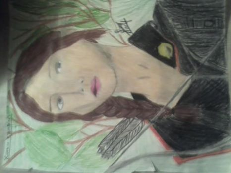 Hunger Games: Katniss Everdeen by drawingfreak100