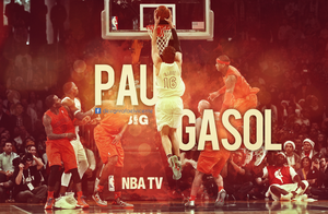 PAU GASOL DUNK by RafaelVicenteDesigns