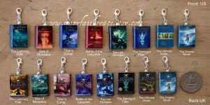 Percy Jackson Clay Beads Set NEW by maryfaithpeace