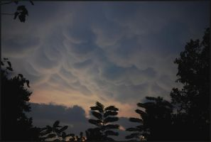 Mammatus to the west... OMG by LadyAliceofOz