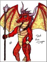 Red the Dragon by MortenLung