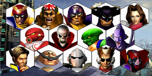 SSB4 F-Zero Series Roster by The-Koopa-of-Troopa