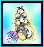 Goddess Isis Nekoi Baby by missingmom