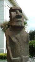 Easter Island Statue 2 by fuguestock