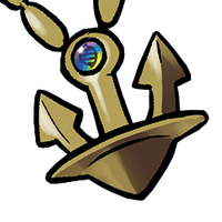 The Mega Anchor worn by Archie. by PokemonOnlineGames