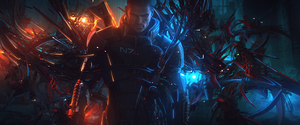 Mass Effect by TwitterWC