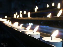 Cathedral Candles by Korppi-Clicks