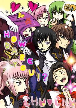 LELOUCH OF THE PURIKURA by gladyfaith