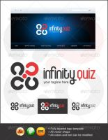 Infinity Quiz Logo Template - Graphicriver by Changyik