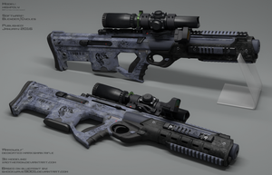 'Aardwolf' DMR by xaotherion