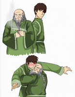 Zuko and Iroh huggyyyyyy by YukiBlueSnow
