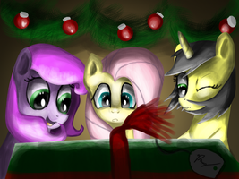 Late Christmas Morning (Request) by Phendyl