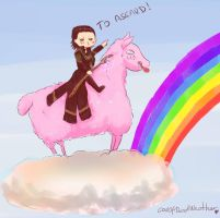 To Asgard! by GodOfBadWeather