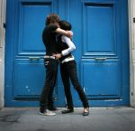 We are living in a blue door by MisterTutu