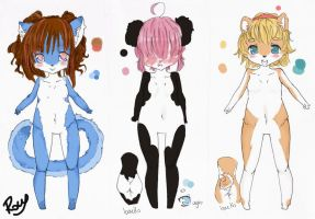 : Custom Adopts Set : by Chewy-Adopts