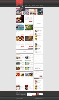 WordPress blog theme by Mikollaj