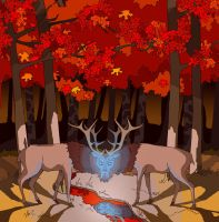 Deer God by Eshto