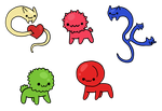 Cell critter adoption- open by to-much-a-thing