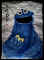 Cookie Monster by VforVieslav