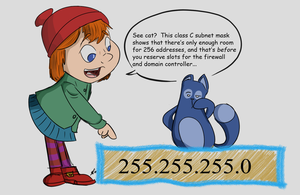 Peg Plus Cat and the DHCP Problem by Kydoon
