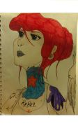 A Different Ariel by theemoartist788