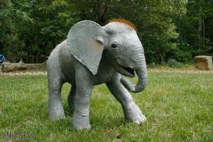 Life sized Gourd Baby Elephant by ART-fromthe-HEART