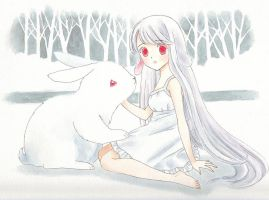 White Rabbit by starlightgenie