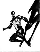 Dark Avengers Spidey by mikemayhew