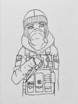Frost (Rainbow Six) by ShatteredPorcelain32