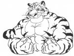 Muscle Tiger by Griffon Park by Stonegate