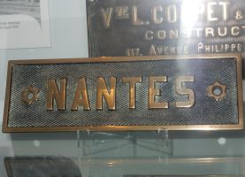Eastwell-Waltham Ironstone Co. NANTES Nameplate by rlkitterman