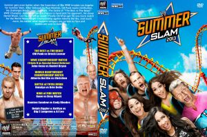 WWE SummerSlam 2013 DVD Cover V1 by Chirantha