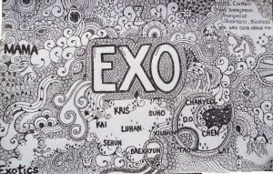 EXO-k EXO-M by ambieshinee
