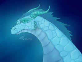 Icedragon by Nappinen