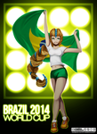 BRAZIL 2014 FIFA WORLD CUP by RafusChan