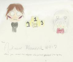 That Awkward Moment.... #417 One-Year Event Entry by iAmoret