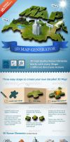 3D Map Generator Action by newdesigns