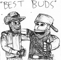 """Best Buds"" by Bleu-Ninja"
