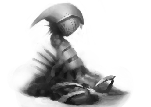 Prophet  - sketch 06-04-2013 by Hysteriall