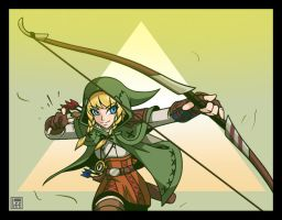 Linkle (Hyrule Warriors) by Lee-Sanixay