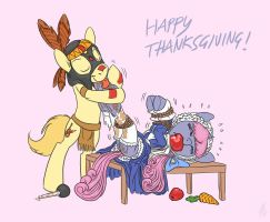 happy thanksgiving from velvet by Siansaar