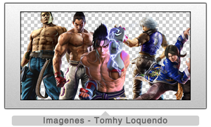 Pack Renders Tekken Part 1 by TomhyLoquendo