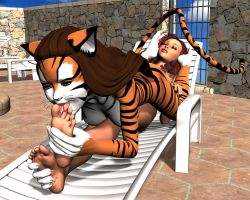 Isabella and Tina in Foot Lovin Fun (10) by Voremantic