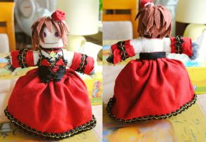 repulsive food eater conchita - Meiko plushie by martek97