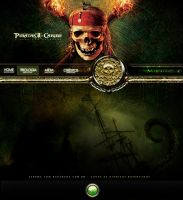 Pirates of Caribbean Hot-Site by luh-yart