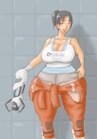Did you pack on some pounds Chell? by RasBurton