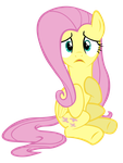 Who, me? Fluttershy by Really-unimportant