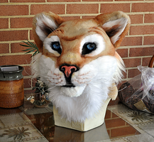 Rayen Tiger Fursuit Head by bawky
