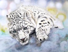 Snow Leopard by ZhaoT